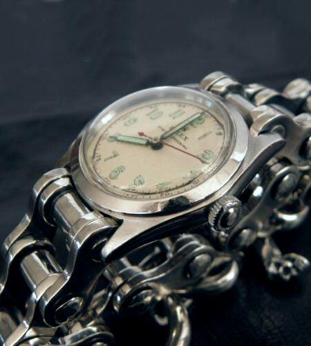 Gaborartory Bike Chain Heavy Wide Small Watch Bands